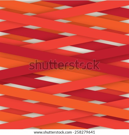 Abstract lines color vector background isolated  - stock vector