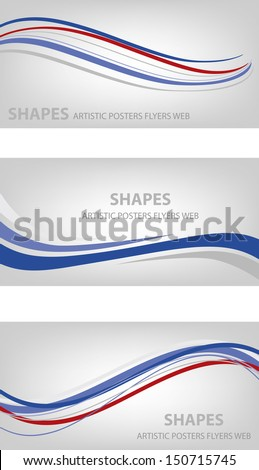 Abstract Lines Design (Vector) - stock vector