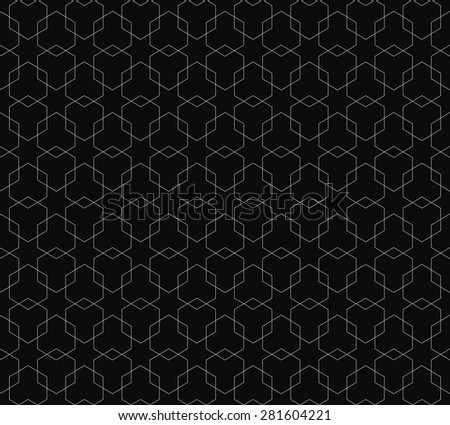 abstract lines ornamental pattern background for your design - stock vector