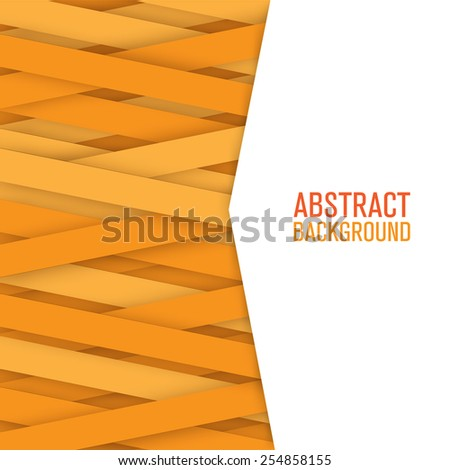 Abstract lines paper background. - stock vector