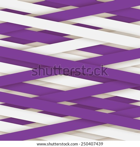 Abstract lines paper style for your new project - stock vector