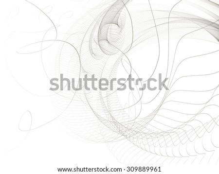abstract lines, vector  - stock vector