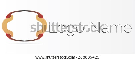 Abstract logo design. Vector icon