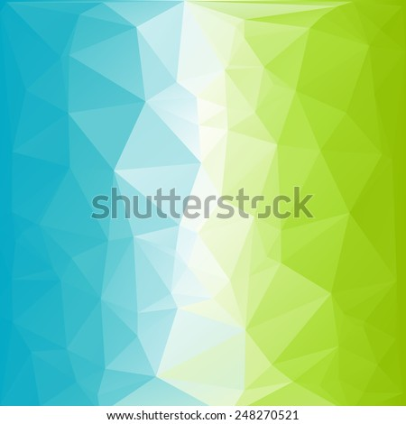 Abstract low poly background, geometry triangle, mosaic - stock vector