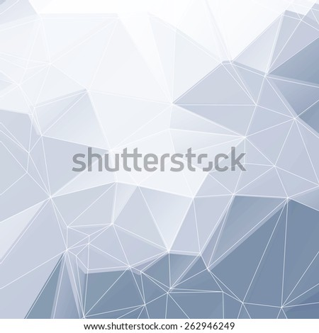 Abstract Lowpoly Vector Background | EPS10 Design - stock vector