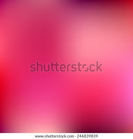 Abstract magenta blur color gradient background for web, presentations and prints. Vector illustration. - stock vector