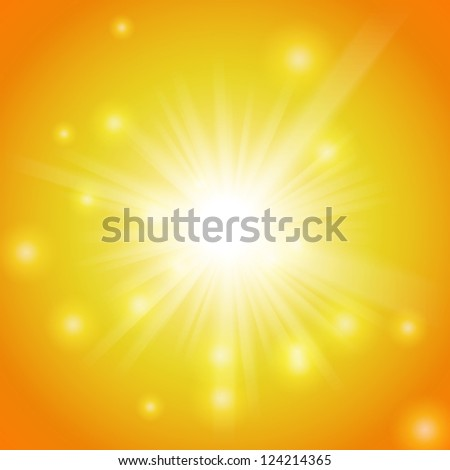 Abstract magic light background. Vector illustration for your majestic design. Easy to use. Element for web design. - stock vector