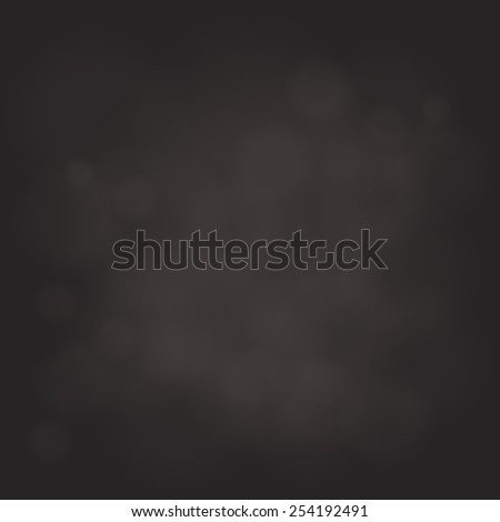 abstract magic light sky bubble blur dark  background - stock vector