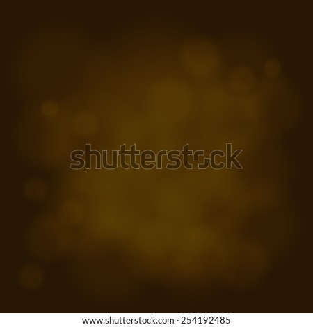 abstract magic light sky bubble blur gold background - stock vector