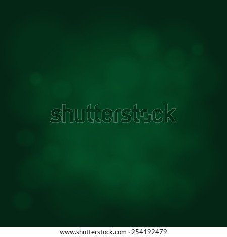 abstract magic light sky bubble blur green poison emerald background - stock vector