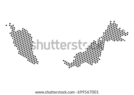 Abstract map malaysia dots planet lines stock vector hd royalty abstract map of malaysia dots planet lines global world map halftone concept vector gumiabroncs Choice Image