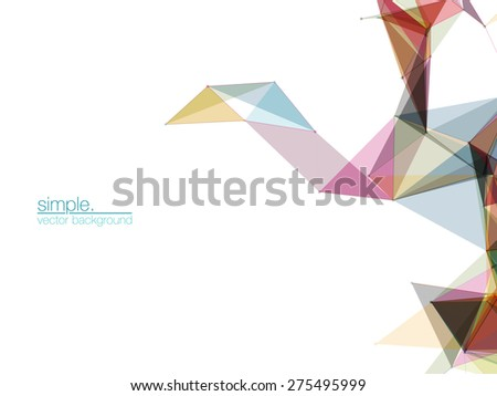 Abstract Mesh Background | EPS10 Futuristic Design - stock vector