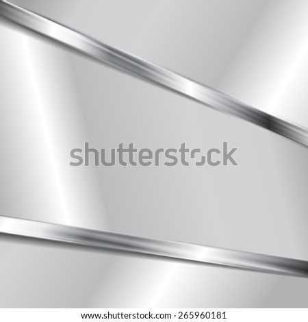 Abstract metallic texture background. Vector design - stock vector