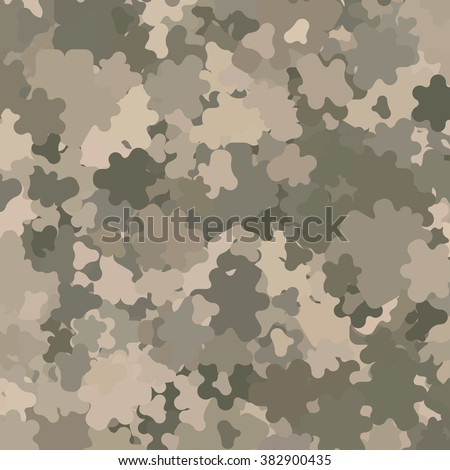Abstract Military Camouflage Background Made of Splash - stock vector