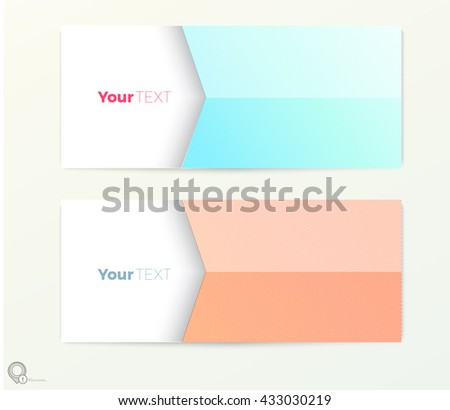 Abstract Minimal Style Invitation Flyer Poster Design Template Vector  - stock vector