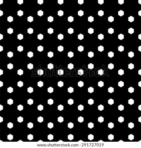Abstract minimalistic black and white pattern - stock vector