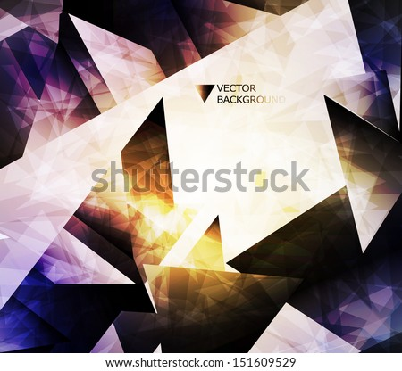 abstract modern background. Design modern template can be used for brochure, banners or website layout vector.  - stock vector