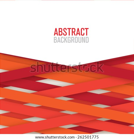 Abstract modern background for brochure and covers, made with geometrical shapes to use for posters - stock vector
