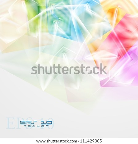 Abstract modern background. Vector illustration eps 10 - stock vector