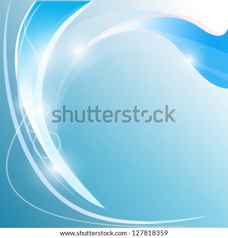abstract modern curve background