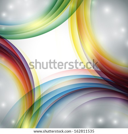 abstract modern  vector background. Eps10 colorful design - stock vector