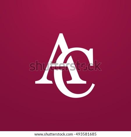 Abstract Monogram Elegant Logo Icon Vector Stock Vector 493581685 ...