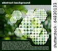 abstract mosaic - stock vector