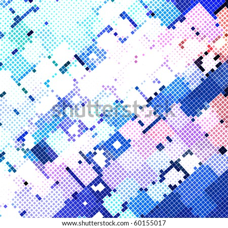 abstract mosaic background, eps10 vector illustration. - stock vector