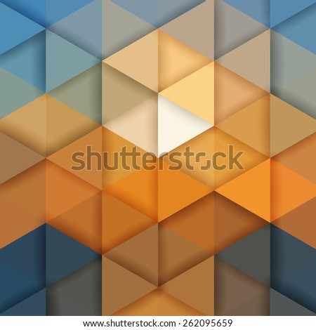 Abstract mosaic background for design