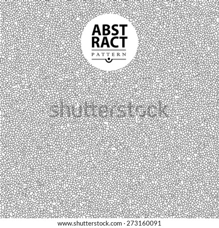 Abstract mosaic background for design. Abstract illustration - stock vector