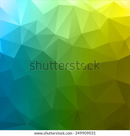 Abstract mosaic background.multicolor geometric rumpled triangular low poly style illustration graphic background. Vector polygonal design for business. - stock vector