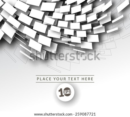 Abstract Mosaic Design, eps10 vector - stock vector