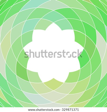 Abstract mosaic pattern of colorful geometric shapes - stock vector