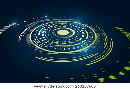 Abstract motion vector background - stock vector