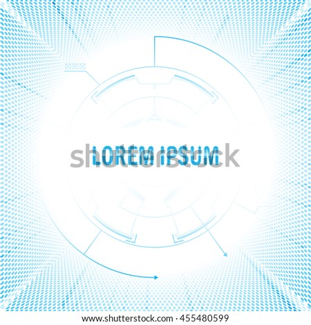 abstract movement speed frame tech communication concept innovative design background