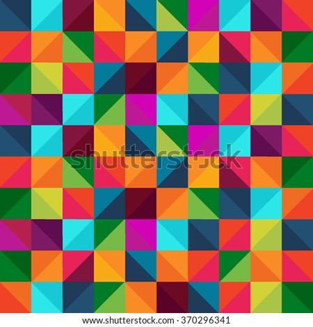 Abstract multicolor seamless pattern