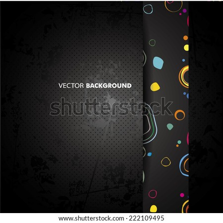 Abstract multicolored background - stock vector