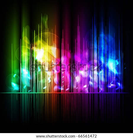 Abstract multicolored background. Vector eps10 illustration - stock vector