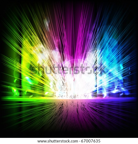 Abstract multicolored background. Vector eps10 illustration