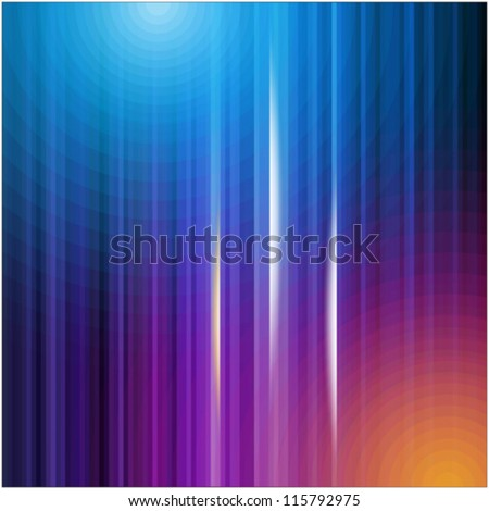 abstract multicolored backgrounds - stock vector