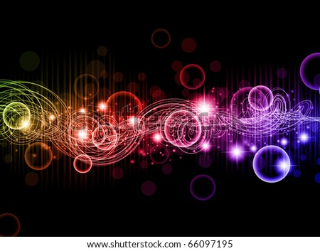 abstract multicolored bright background - stock vector