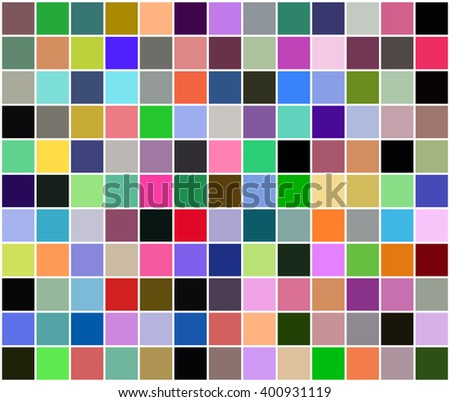 Abstract multicolored geometric square pattern  - stock vector