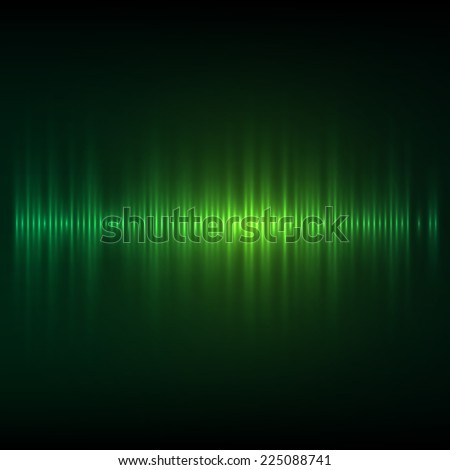 Abstract music equalizer. Vector illustration. - stock vector