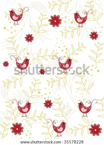 abstract nature pattern wallpaper, vector illustration