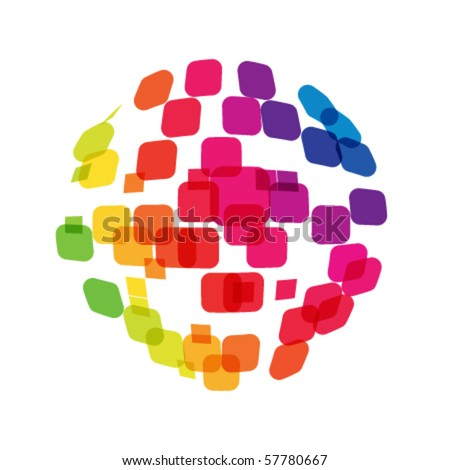 abstract network concept - stock vector