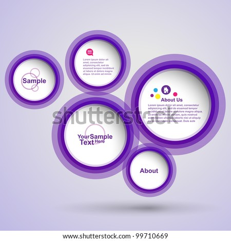 Abstract new web design , vector - stock vector