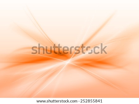 Abstract orange background. Vector illustration. - stock vector
