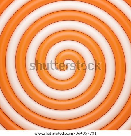 Abstract orange candy background. Pattern design for banner, poster, flyer, card, postcard, cover, brochure. - stock vector
