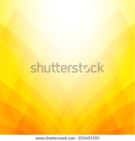 Abstract orange & yellow background - stock vector