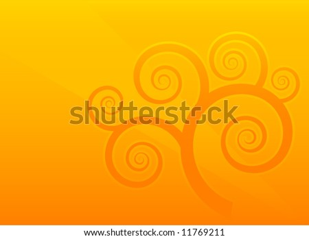 Abstract original vector background vintage illustration - stock vector